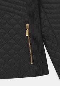 Barbour - GIRLS FORMATION QUILT - Light jacket - black - 2