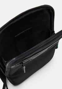 Guess - MASSA CONVERTIBLE CROSSBODY - Across body bag - black - 2