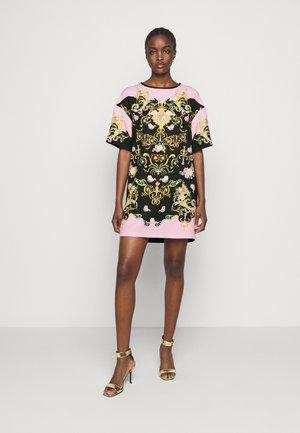 LADY DRESS - Vestito estivo - black/pink confetti