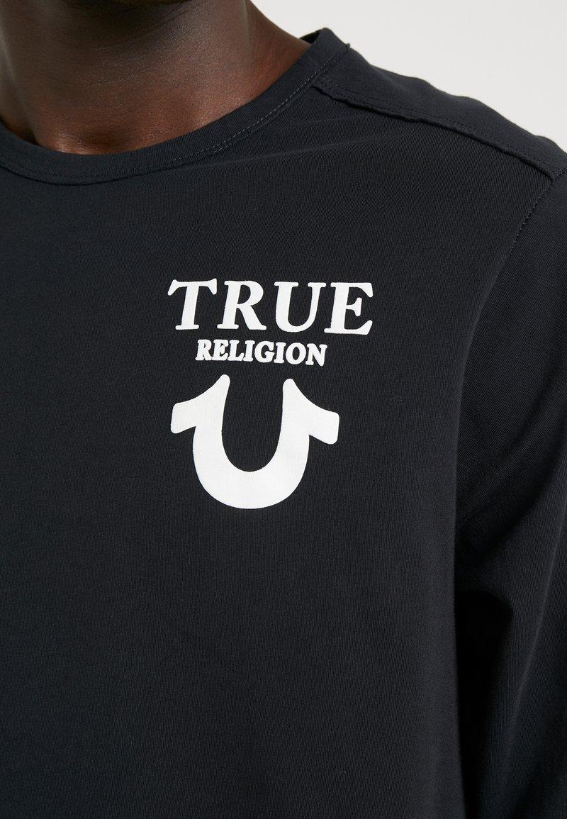 True Religion LONGSLEEVE LOGO - Langarmshirt - black/schwarz PH2rPe