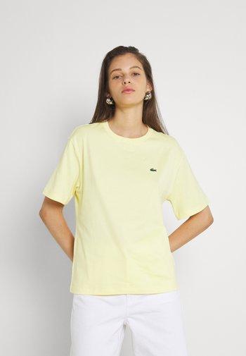T-shirt basic - jaune