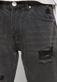 Glamorous Petite - LADIES  WASHED - Jean slim - black - 5