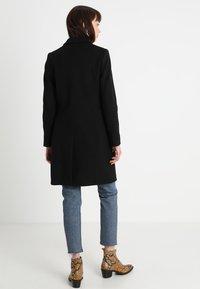 Benetton - CLASSIC TAILORED COAT - Classic coat - black - 2