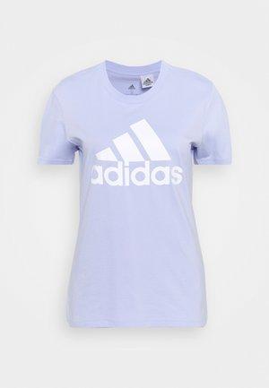Camiseta estampada - violet tone/white