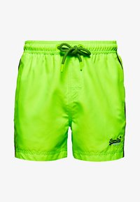 Superdry - BEACH VOLLEY  - Swimming shorts - sunblast green - 7