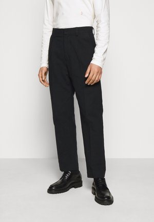 JENS TROUSER - Trousers - black