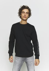 Diesel - UMLT-WILLY SWEAT-SHIRT - Sweatshirt - black - 0