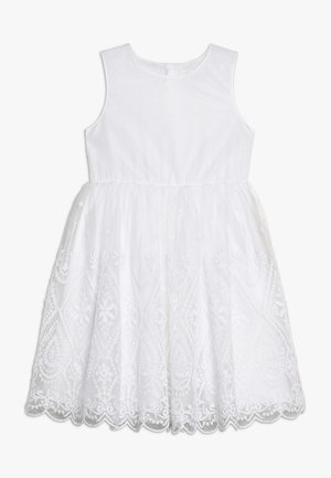 NKFSANDIE SPENCER - Vestido de cóctel - bright white