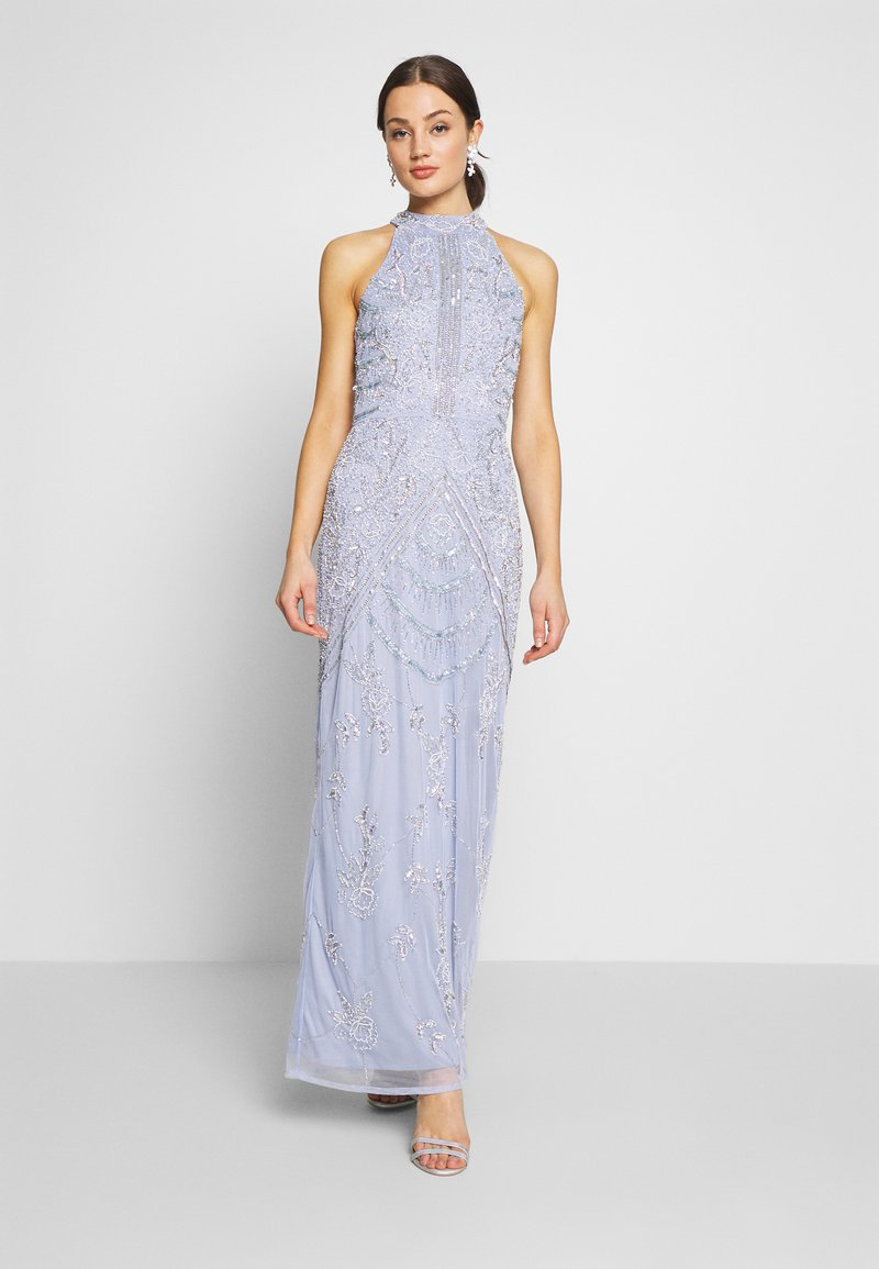 Lace & Beads - ASHLEY MAXI - Suknia balowa - blue