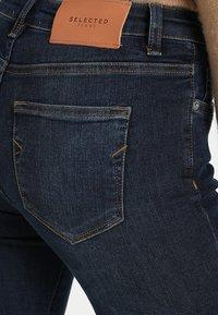 Selected Femme - SLFIDA SKINNY - Jeans Skinny Fit - dark blue denim - 5