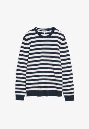 Sweatshirt - depth navy-luna rock