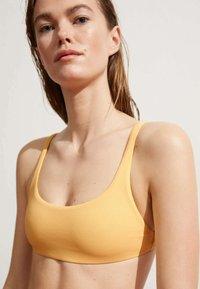 OYSHO - Bikini top - yellow - 0