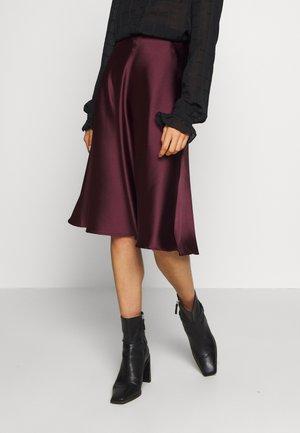 SOPHIE SKIRT - Áčková sukně - burgundy