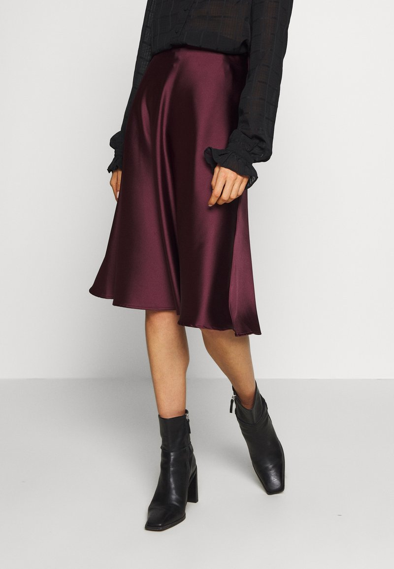 Lace & Beads - SOPHIE SKIRT - A-Linien-Rock - burgundy