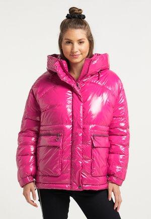 Winter jacket - fuchsia