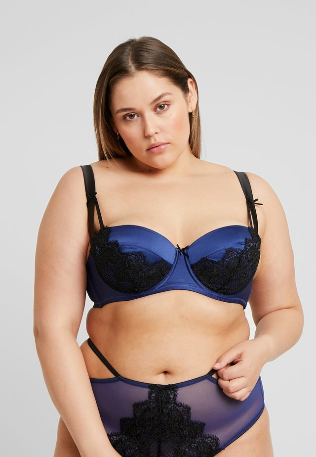 TABITHA EMBROIDERED BRA - Kaarituelliset rintaliivit - blue