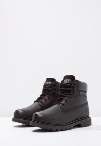 Cat Footwear - COLORADO - Šněrovací kotníkové boty - all black - 5