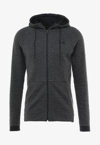 Under Armour - SPORTSTYLE FULL ZIP - Zip-up hoodie - black - 3