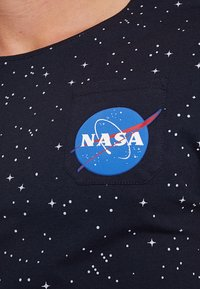 Alpha Industries - STARRY - T-shirt con stampa - rep blue - 5