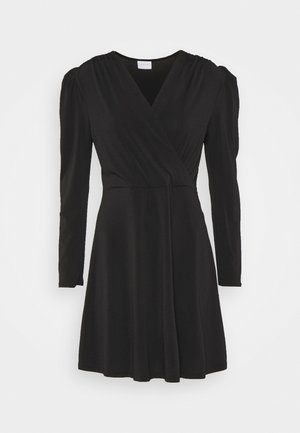 VIELBAS DRESS - Vestito di maglina - black