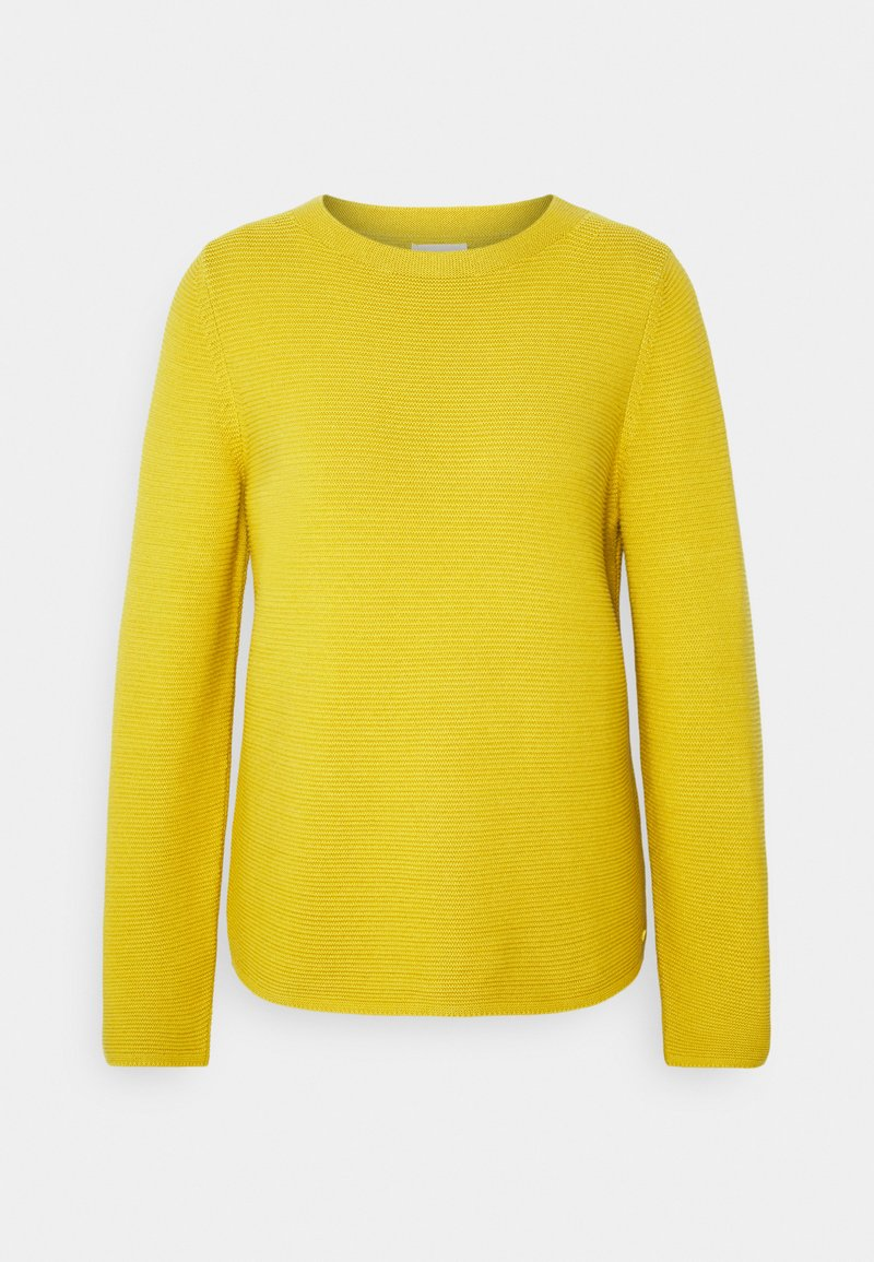 Marc O'Polo - LONGSLEEVE STAND UP - Jumper - mellow curry