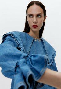 Uterqüe - Denim dress - blue - 4