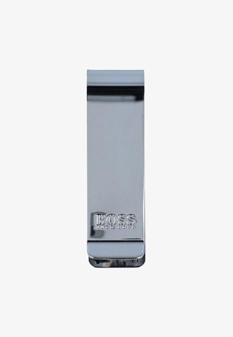 BOSS - MAJESTIC GELDSCHEINKLAMMER 6 CM - Wallet - silvercolored