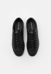 Lacoste - GRADUATE - Sneakersy niskie - black - 3