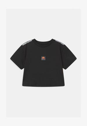 ASALI CROPPED UNISEX - T-Shirt print - black
