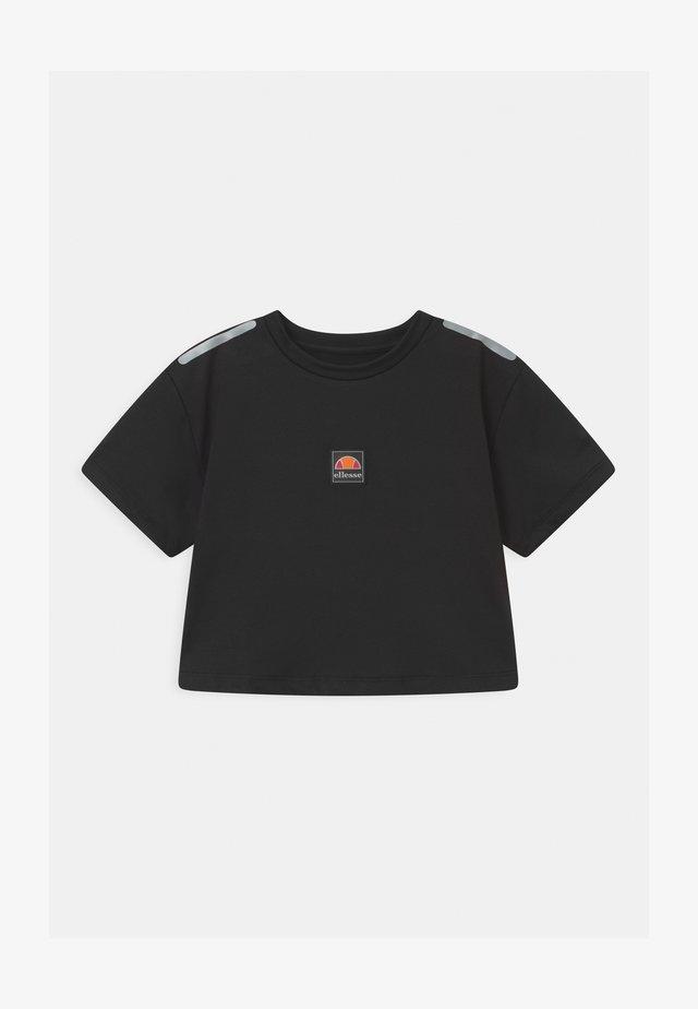 ASILI UNISEX - T-shirt imprimé - black