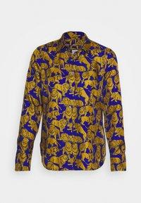 J.CREW - MAD LIONS - Button-down blouse - blue/olive - 6