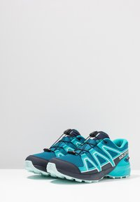 Salomon - SPEEDCROSS CSWP - Hiking shoes - lyons blue/bluebird/navy blazer - 3