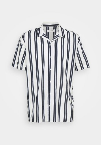 JJGREG STRIPE SHIRT - Skjorta - white