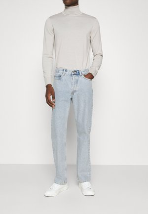 Straight leg jeans - turquoise dusty light