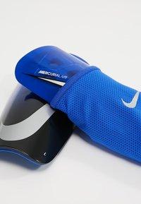 Nike Performance - MERCURIAL LITE - Schienbeinschoner - racer blue/black/silver - 5
