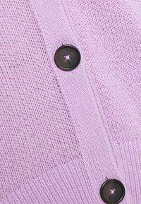 Marc O'Polo - CARDIGAN LONGSLEEVE  - Cardigan - breezy lilac - 2