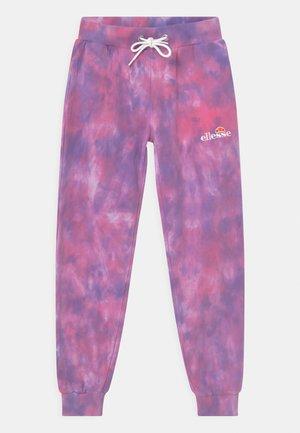 SHERIDA - Tracksuit bottoms - pink/purple