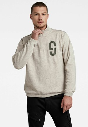 LOGO - Sweatshirt - whitebait htr
