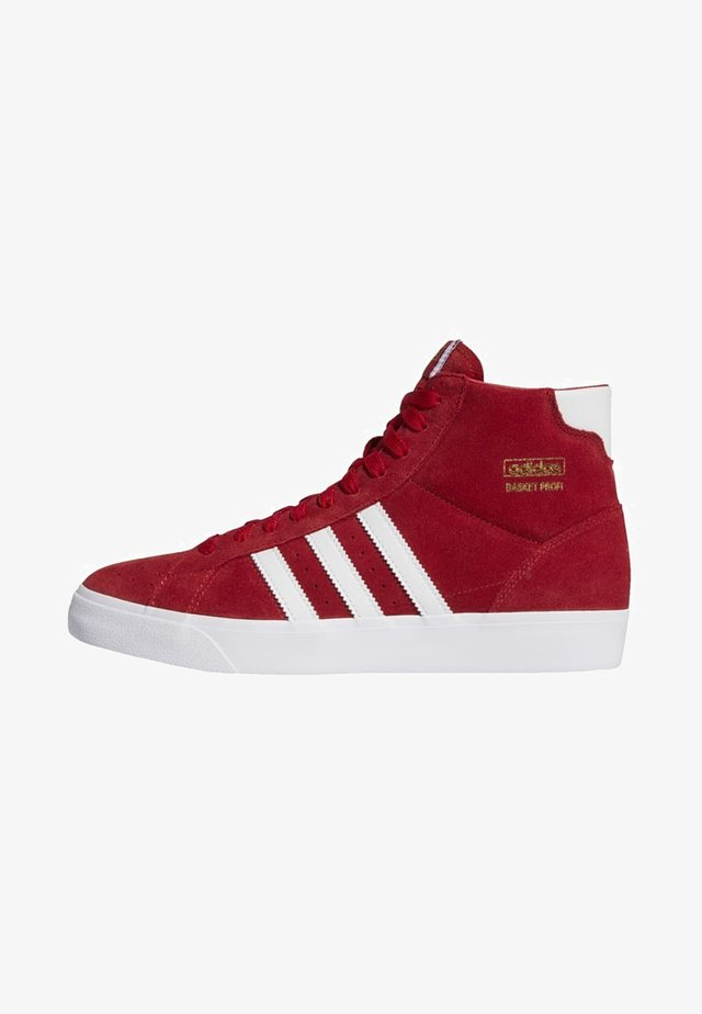 BASKET PROFI VULCANIZED SHOES - High-top trainers - red