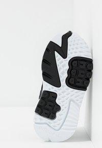 adidas Originals - NITE JOGGER - Slip-ons - core black/carbon - 5