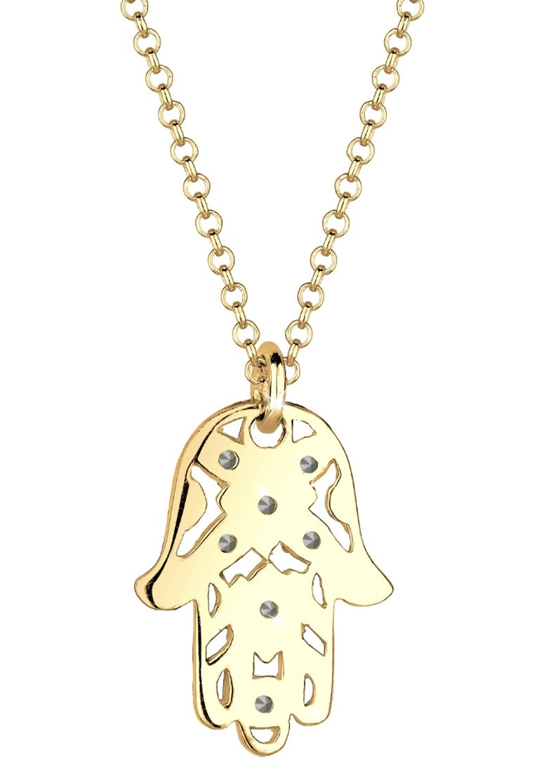 Latest Official Accessories Elli HAMSA-HAND Necklace gold VUFO8CkO8 SUMYiXUYf
