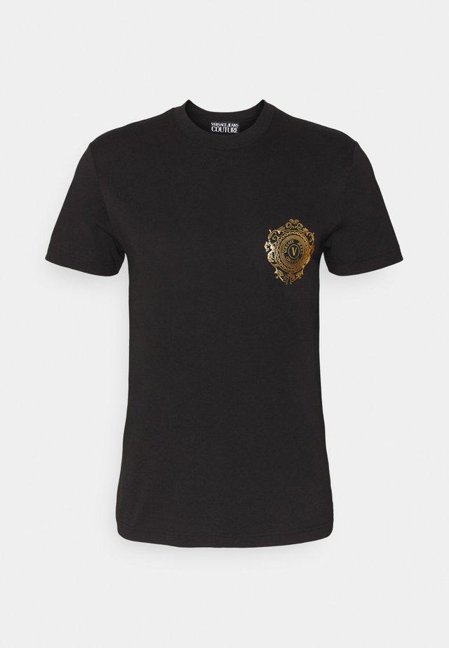 T-shirts print - black / gold