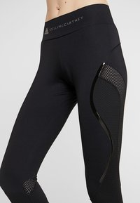 adidas by Stella McCartney - ESSENTIALS SPORT WORKOUT LEGGINGS - Legging - black - 4