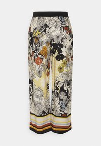 More & More - TROUSER - Trousers - sunny yellow multi - 1