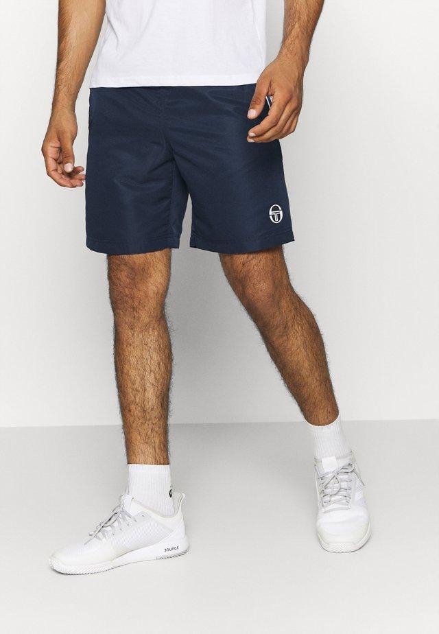 ROB SHORTS - Sports shorts - navy/white