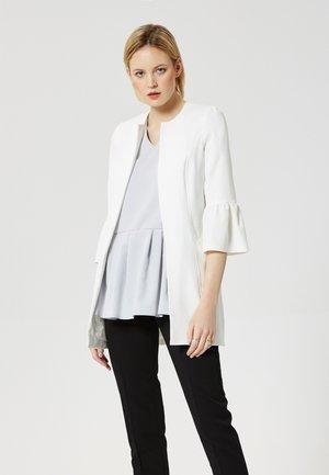 Abrigo corto - white