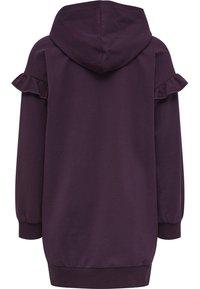 Hummel - AIKO - Jersey dress - blackberry wine - 1