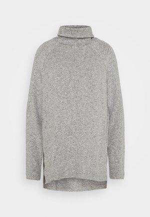 VMTAMMI HIGH NECK  - Jersey de punto - light grey melange