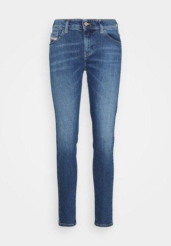 SLANDY - Slim fit jeans - denim blue