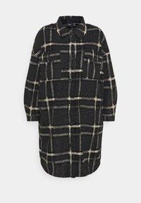 Vero Moda Curve - VMCHRISSIE LONG SHIRT - Summer jacket - dark grey melange - 3